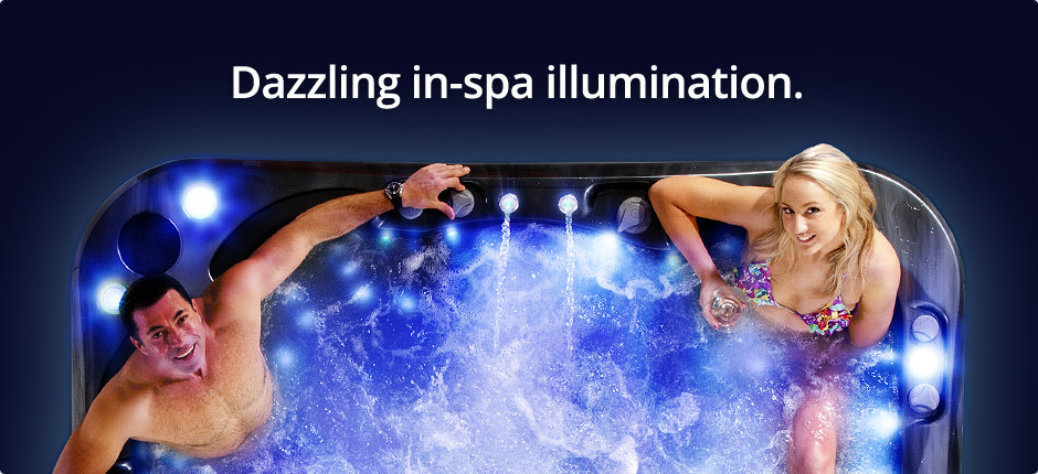 Hydroglow Spa Pool Lighting